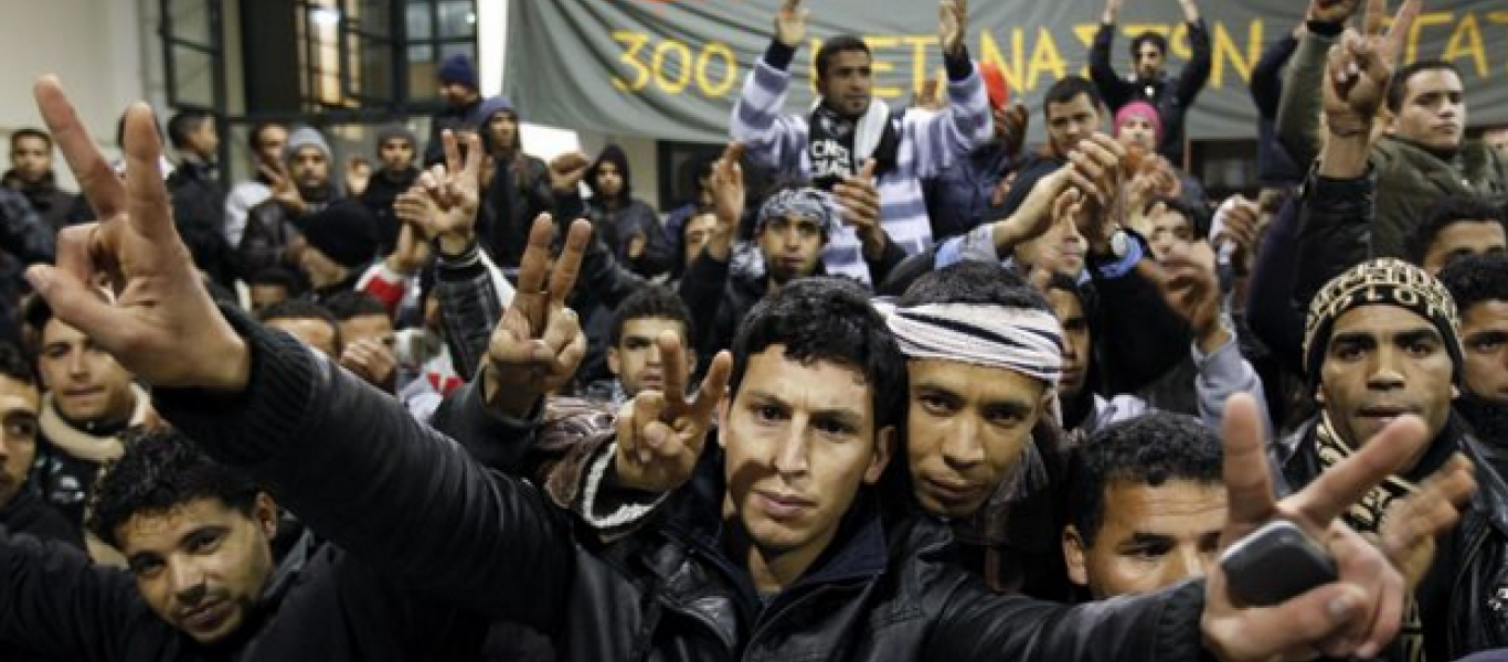 Αποτέλεσμα εικόνας για εισβολη μεταναστων