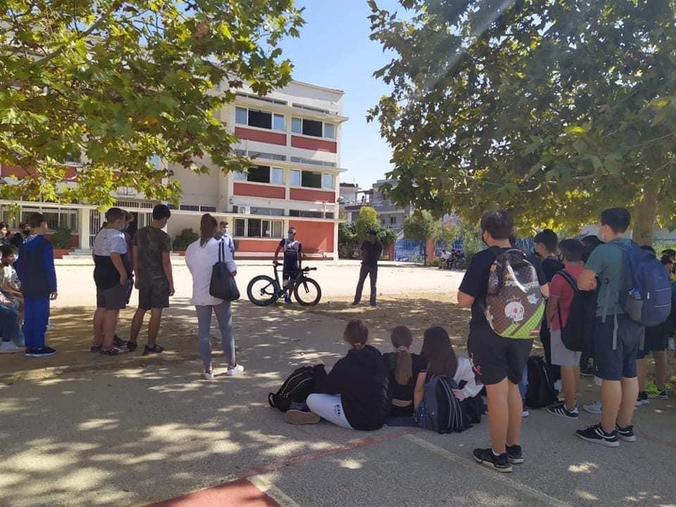 Ευρωπαϊκή Εβδομάδα Κινητικότητας: Eκπαιδευτική δράση στο 1ο Δημοτικό Σχολείο και το 3ο Γυμνάσιο Αλεξανδρούπολης